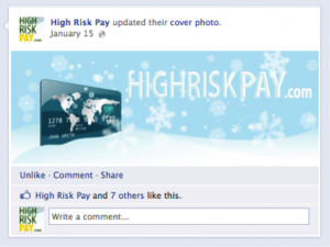3 Ways to Dramatically Increase Engagement on Your Facebook Page image high risk pay2 300x225