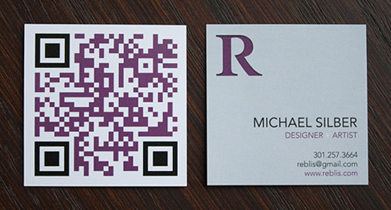 10 New Ways to Print Business Cards image square scanable
