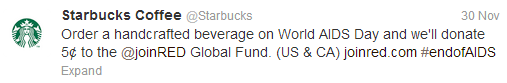 6 Reasons Starbucks Excels at Social Media Marketing image starbucks tweet 2