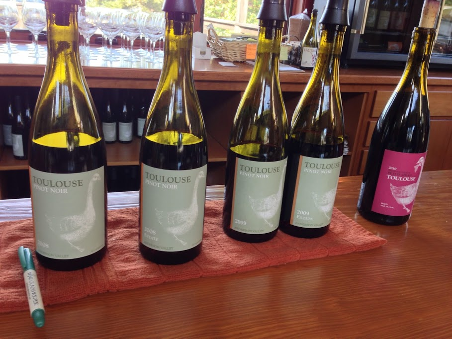 Wine Tasting Along the Anderson Valley Wine Trail   Part 2 image toulouse wines1