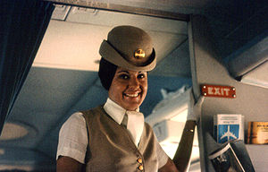 What Brands And Marketers Can Learn From A Flight Attendant image 300px Pan Am 1970s flight attendant14