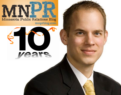 MN PR Blog 10 Years