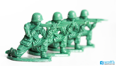 5 Ways to Combat Showrooming image Toy Soldiers