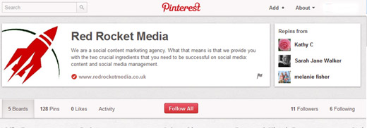 Red Rocket Media on Pinterest
