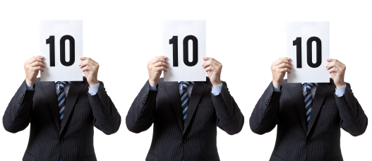 A Lead Scoring Checklist for Sales and Marketing image 3 judges scoring iStock