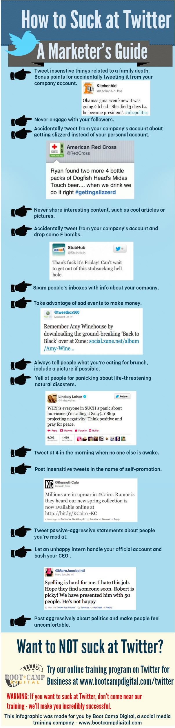 14 Twitter Mistakes to Avoid | Business 2 Community