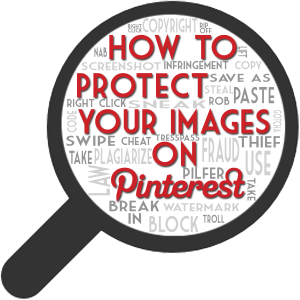 How to Protect Images on Pinterest image protect images1 300x300