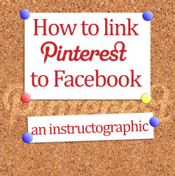 How to link Pinterest to Facebook