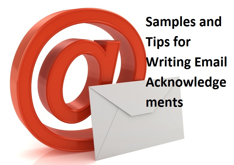 how to write acknowledgement email replies with samples