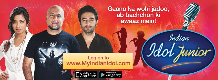 Sony Brings Indian Idol Junior. Focuses on Social and Mobile To Engage With Fans image Indian Idol Junior facebook1