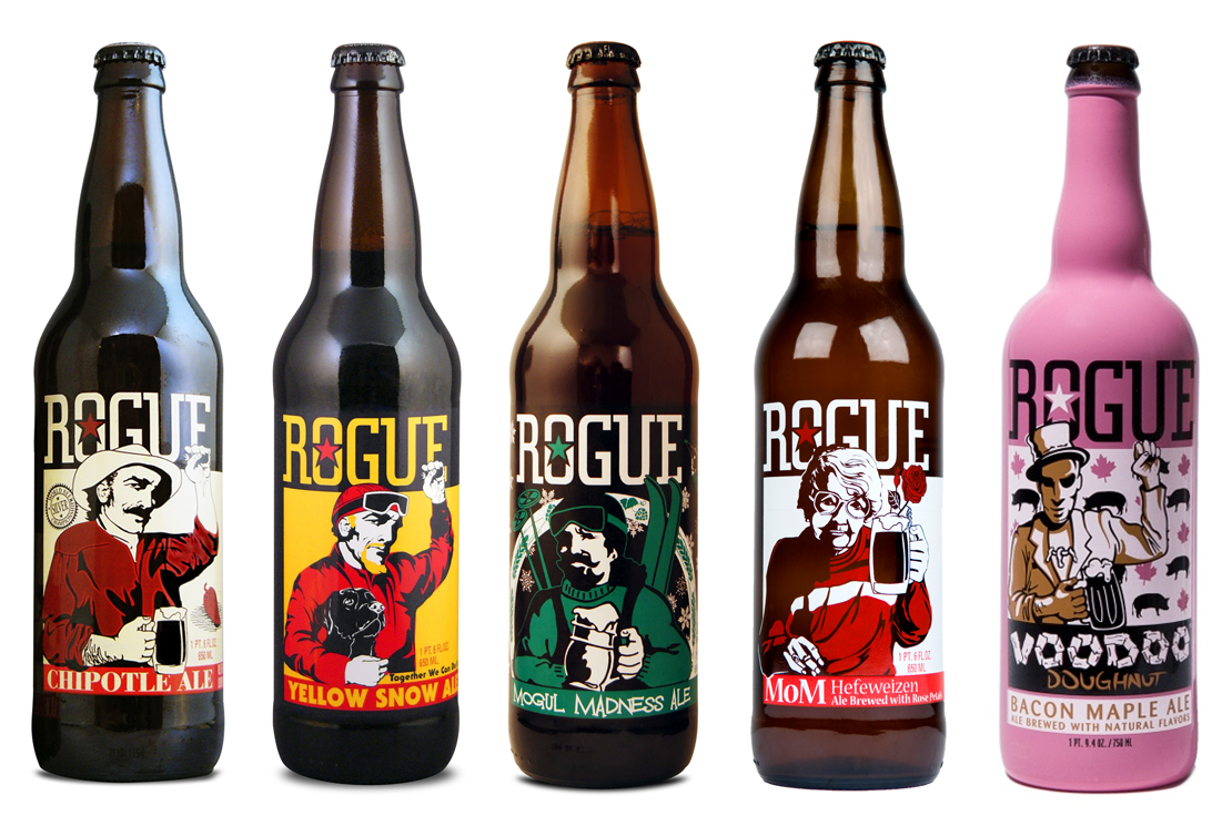 Design Tips With 8 of the Best Looking Craft Beer Brands image Rogue2