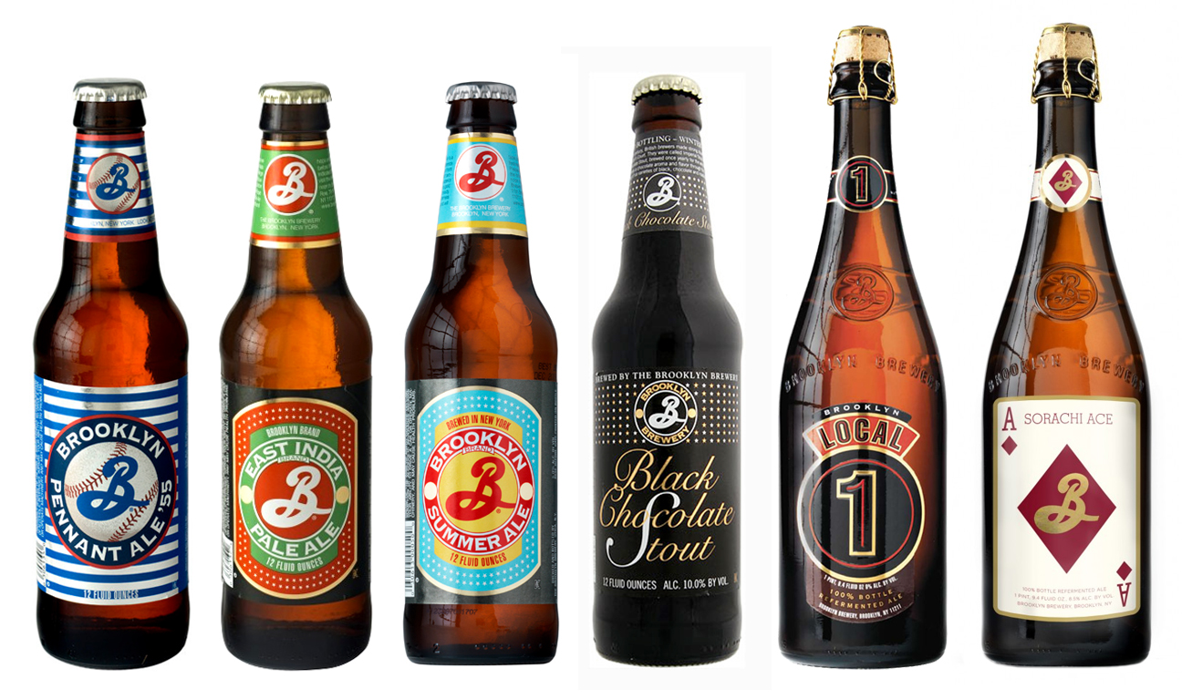 Design Tips With 8 of the Best Looking Craft Beer Brands image brooklynbeers2