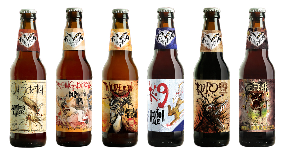 Design Tips With 8 of the Best Looking Craft Beer Brands image flyingdog2