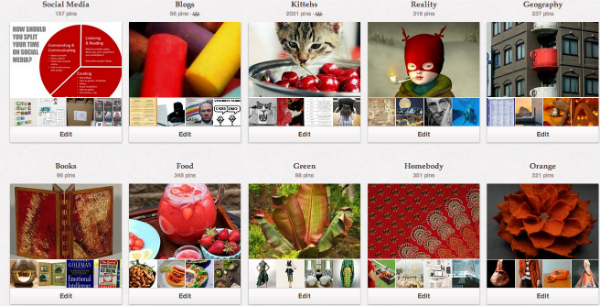 Pinterest: Five Ways to Prettier Boards image Pinterest
