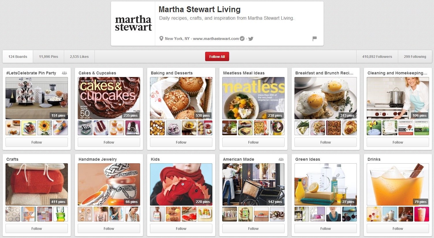 Top 3 Reasons Martha Stewart Dominates Pinterest image martha stewart