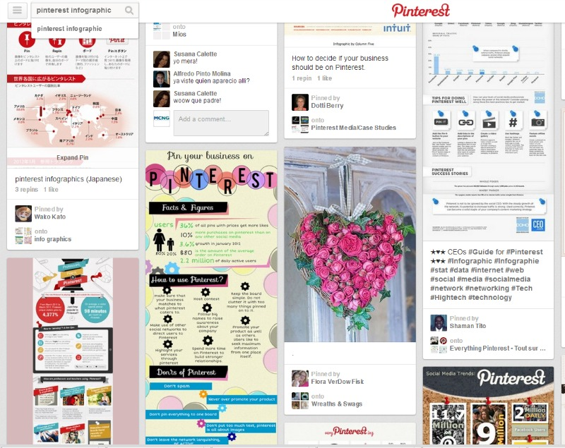 5 Reasons Pinterest's Search Engine Is Better Than Google's image Pinterest Search Results 2