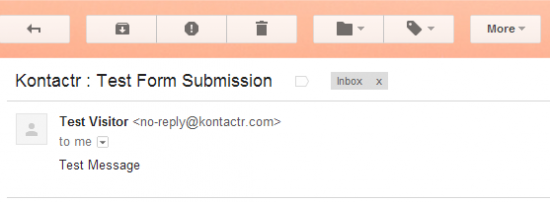 Add A Contact Form To Your Blog Without Using A Plugin! image kontactr 4 550x202