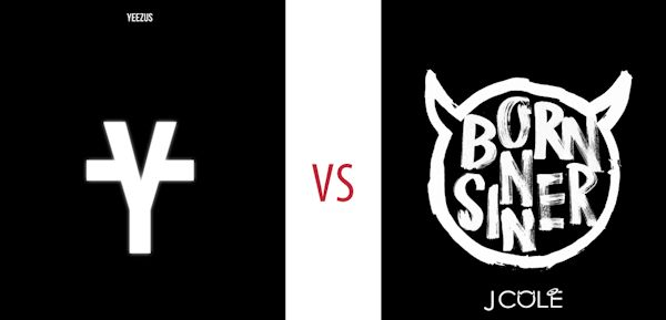 How Word of Mouth Marketing Drives Music Album Sales image Yeezus v Born Sinner post