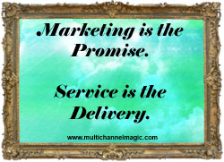 Delivering a Customer Service Makeover: Customer Service that Improves Satisfaction and Saves Money image marketing promise service d