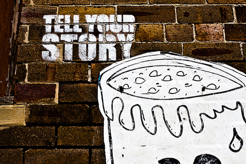 5 Easy Ways to Find Your Content Marketing Story image tell your story