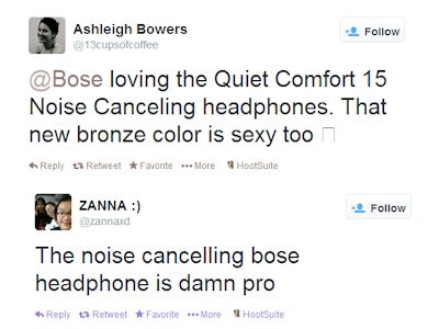 Analyzing Consumer Response to Brand Marketing Strategy image Beats vs Bose brand marketing strategy tweets2