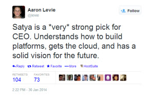 Aaron Levie Tech CEO Influencer Tweet3