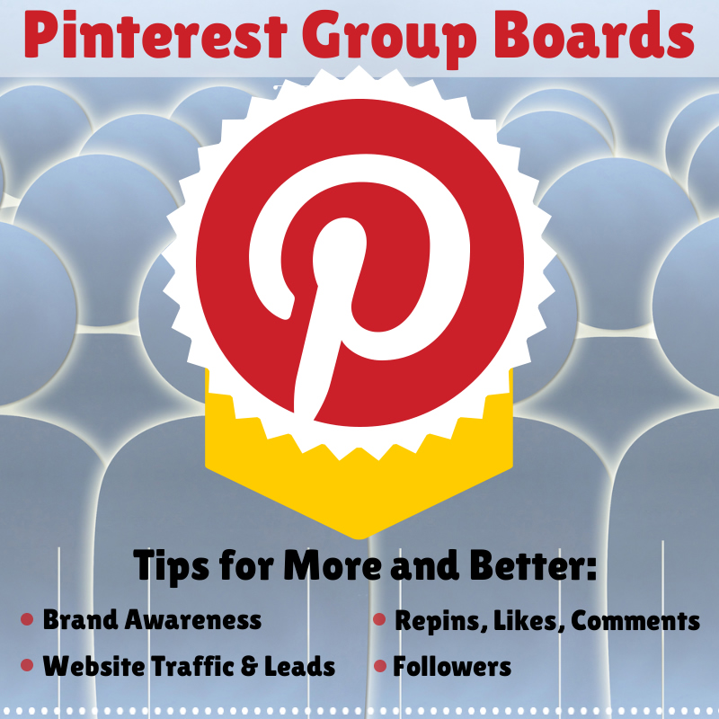 How to Instantly Increase Your Business Pinterest Marketing Success With Group Boards image Pinterest Group Board Benefits
