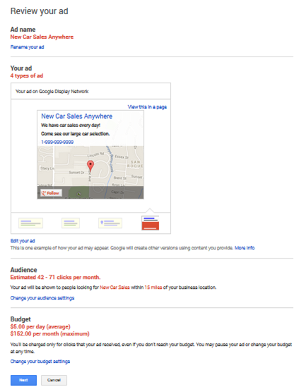 Google Adwords Express 101: Hyperlocal Advertising To Reach Local Consumers image google adwords express review your ad
