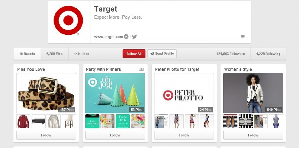 How Pinteresting! Brands Use Best Practices to Increase Sales on Pinterest image target pinterest