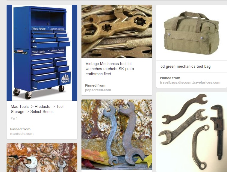 How Pinteresting! Brands Use Best Practices to Increase Sales on Pinterest image tools on pinterest