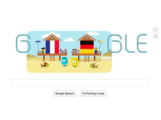 Lead Generation Tips – Old Rivalries Really do Make Great Material image google doodle germany france