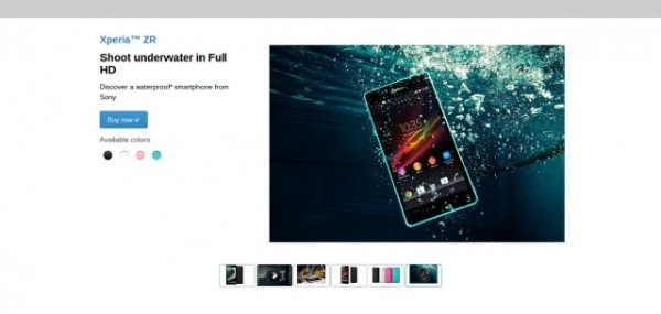 What Nike.com (and Others) Can Teach You About Building Persuasive Product Pages image WaterProof Phone 1 e1408126576663 600x285