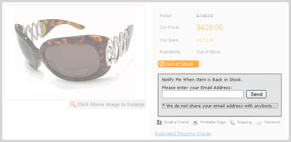 What Nike.com (and Others) Can Teach You About Building Persuasive Product Pages image out of stock1 screenshot 600x294