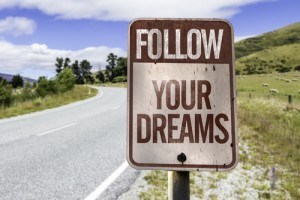 Go Confidently in fhe Direction of Your Dreams image shutterstock 174935330