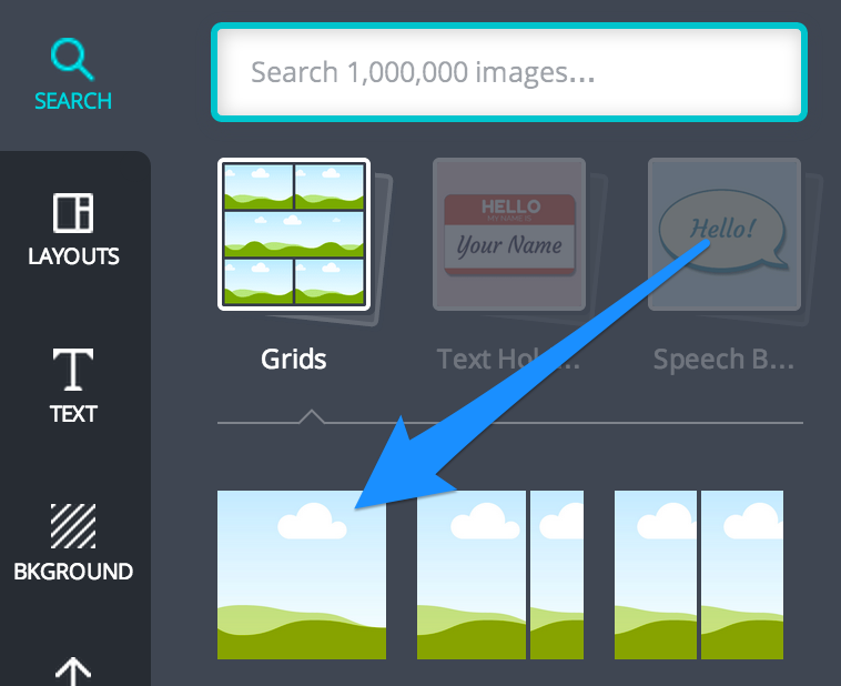23 Tools and Resources to Create Images for Social Media image search grids canva3