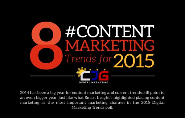 8 Content Marketing Trends to Watch Out for in 2015 (Infographic)