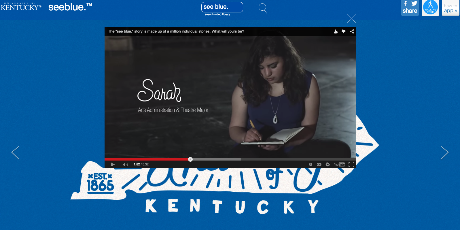 Kentucky College YouTube Social Media Campaign