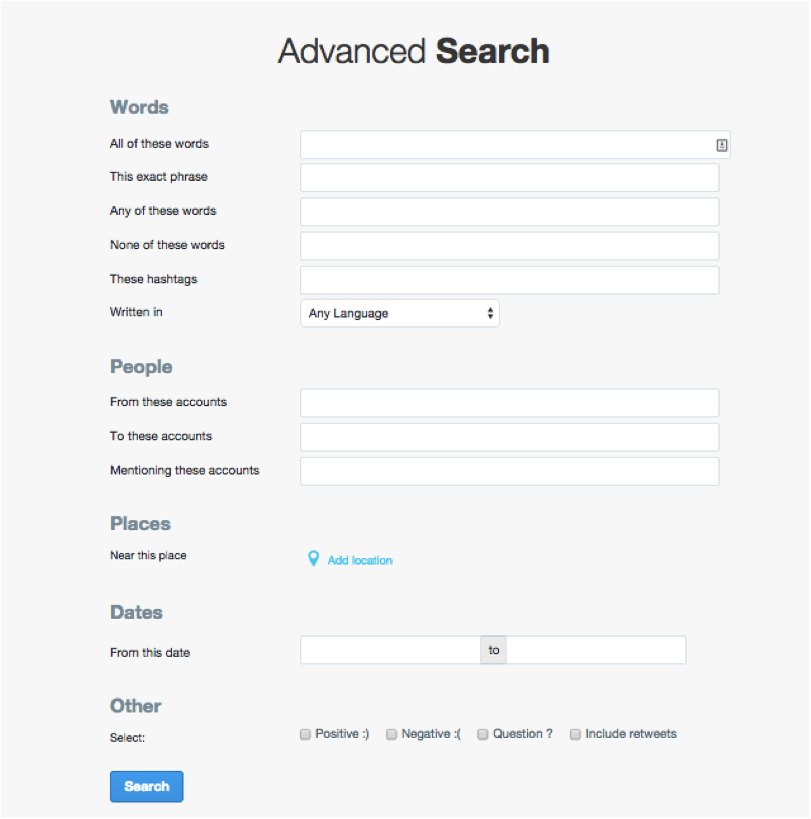 Advanced-search