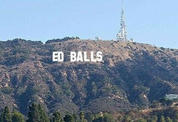 Hollywood Viral Ed Balls