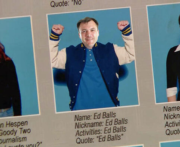 Viral High School Ed Balls
