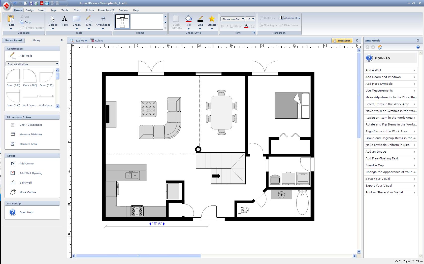 Free Program For Drawing Floor Plans