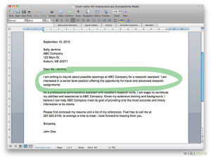 Cover Letter Confusion To Whom Should You Address It
