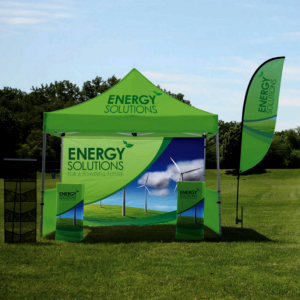 outdoor banner stands and flags & Outdoor Event Marketing Must-Haves