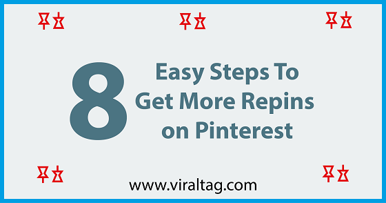 8 Easy Steps To Get More Repins on Pinterest