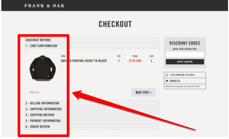 ecommerce simple checkout