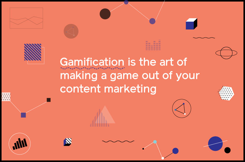 gamification art of making a game out of content marketing
