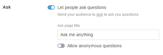 how to allow anonymous asks on tumblr mobile