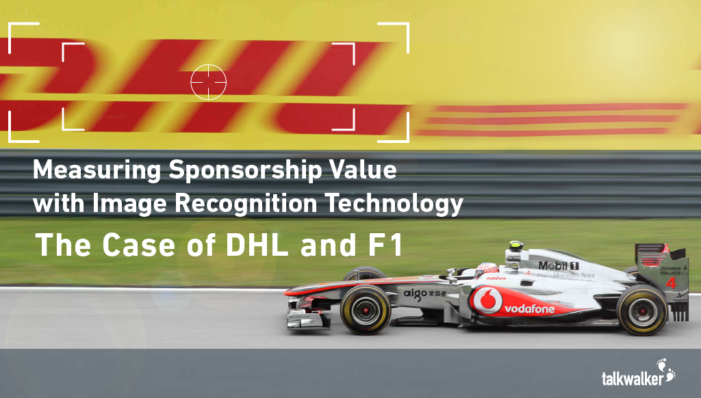sponsorship image recognition dhl f1 social listening