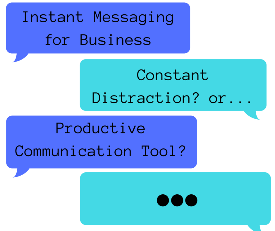 Instant Message Work : Is instant messaging killing your company s productivity