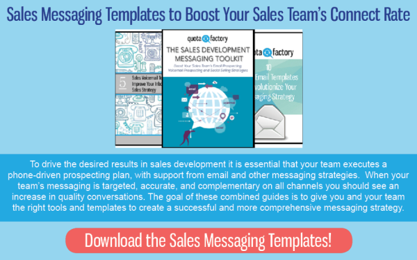 The Right Sales Messaging Templates Will Boost Your Sales Team's Connect Rate